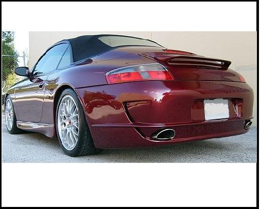 Paraurti Posteriore Per Porsche 996 Stile Gt3 997 Dall